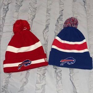 NWOT Bundle of TWO Buffalo Bills Hats